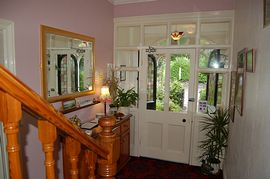 Our welcoming hall and staircase