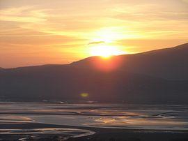 Sunset over Duddon Estuary