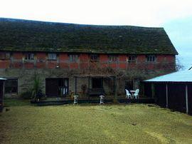 rear photo of the barn