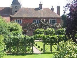 Rear view of house 7 garden