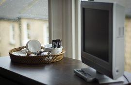 Tea and coffee facility+ television