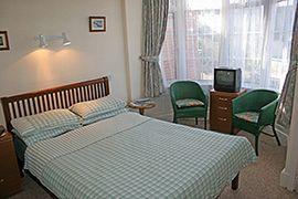 Double en suite room at Morven House