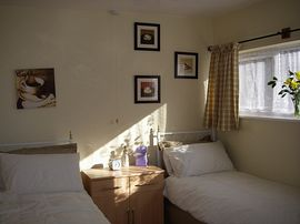 View of the Twin Room
