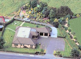 Aerial photo Ashcroft Farmhouse