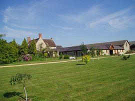 View across the garden