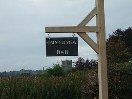 Calsfell B&B Sign