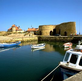 Beach Court and Beadnell Harbour