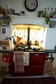 Breakfast cooked on the Aga!