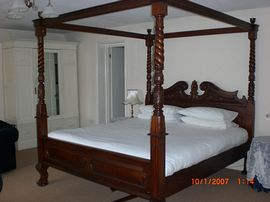 Super King Four Poster Bed
