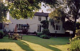 Garden to rear of Orchard House