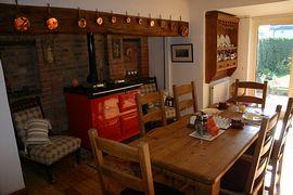 Farmhouse Dining Kitchen