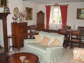 The Dining room at Newland House