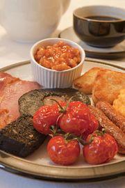 Croft Gate breakfast