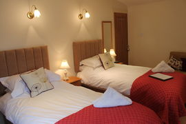 Double room showing as twin