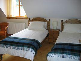 En-suite twin room