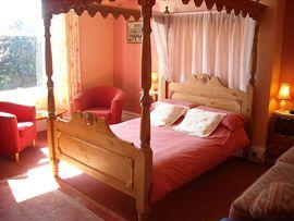Superior sea facing bedroom