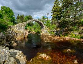The Old Coffin Bridge built 1717