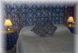 King size room ensuite, great veiws to Peasho