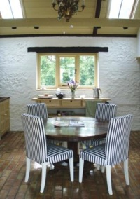 The breakfast/evening room at Top Parts B&B