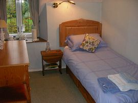 Single room in family suite