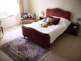 A spacious double en-suite room