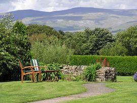 View from garden over Pennines