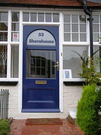 Shorehouse front door