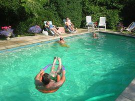 A refreshing swim