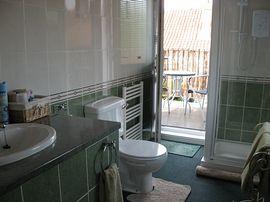 En-suite with balcony