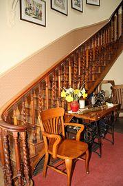 The splendid staircase