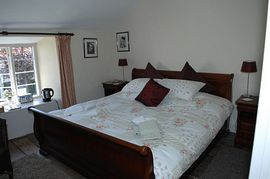 super kingsize mahogany sleigh bedroom