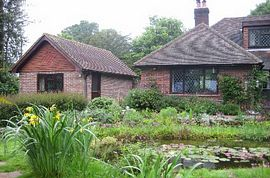 Rear view showing some of the garden