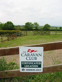 Caravan Club Site
