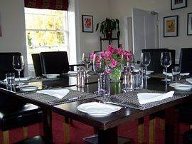 Dining Room at Rollestone Manor