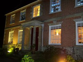 Rollestone Manor by night