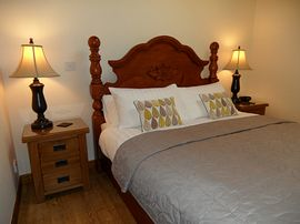 The Hayloft room with spacious bedroom