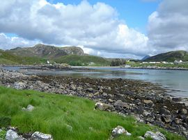 Arkle from Scourie Beach