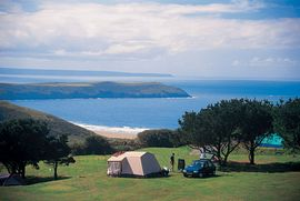 Great views, camping and touring