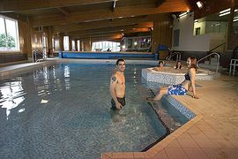 Indoor Pool at Brighouse Bay