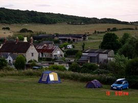 The main camping field
