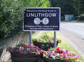 Linlithgow sign