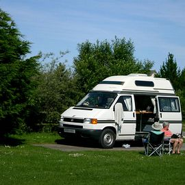 Hardstanding motorhome pitches