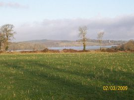 view of lawrenny from camping area