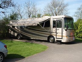 RV Pitches in the Cotswolds