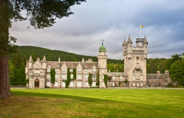 Balmoral Castle in Royal Deeside, Aberdeenshire