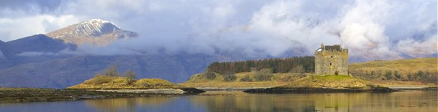 Castle Stalker, Appin. Picture courtesy of www.britainonview.com
