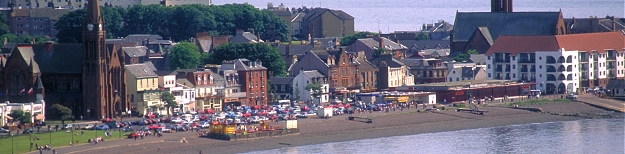 Looking over Largs - Picture courtesy of www.britainonview.com