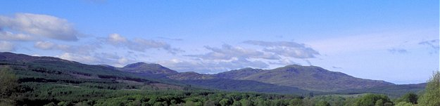 Hills near Newton Stewart - Picture courtesy of www.britainonview.com