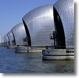Thames Flood Barrier. Picture courtesy of www.britainonview.co.uk.