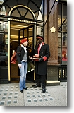 Shopping at Cartier. Picture courtesy of www.britainonview.co.uk.